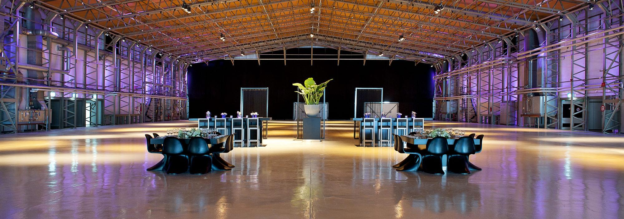 Events: De veelzijdige open ruimte van Hangaar2